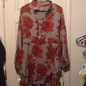 Nwot free people floral dress in small